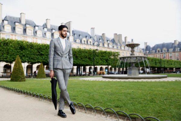 Mohamed Nouar le dernier gentleman dans le jardin du Louvre